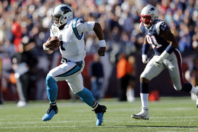 Cam Newton Reacts To Being Named Patriots Starting Quarterback and Team Captain