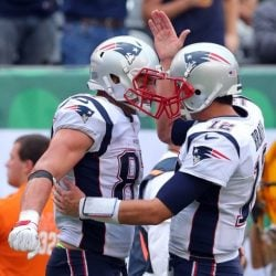 VIDEO: A Behind The Scenes Look At Tom Brady and Rob Gronkowski In NFL 100 Commercial