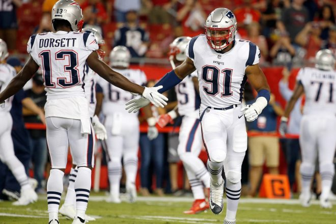 Patriots Need Dorsett and Allen To Finally Come Through In Second Half
