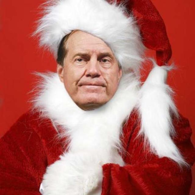 11-bill-belichick-santa-athletes-dressed-as-santa