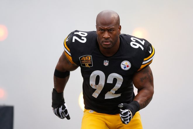 James Harrison Signing With the Patriots Re: Field Yates