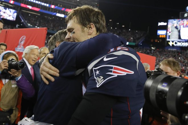 """Brady, Belichick and the Patriots Throw """"Hot Take"""" Artists Out of the Club"""