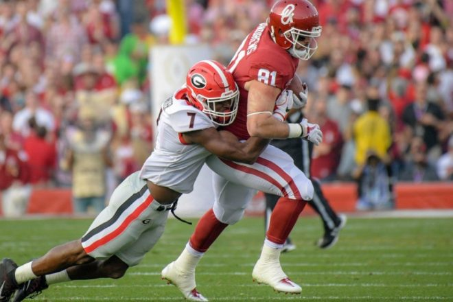New England Patriots Draft Profile, Lorenzo Carter, LB, Georgia