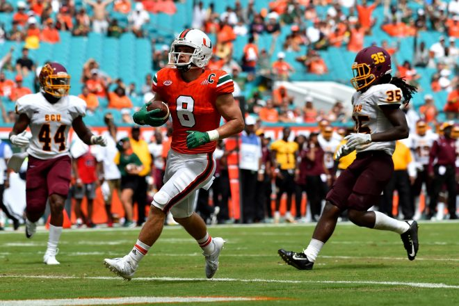 PHOTOS: Braxton Berrios Reacts To His Selection By Patriots