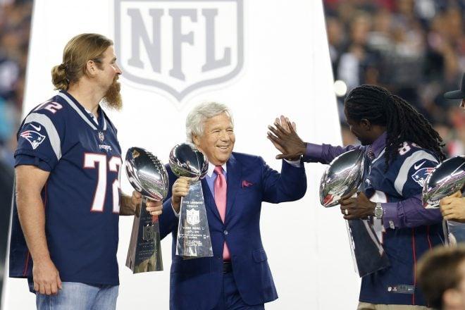 Matt Light Inducted Into Patriots Hall Of Fame