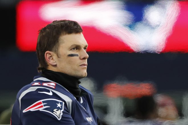 "Tom Brady Wins Sports Emmy For ""Tom Vs. Time"""