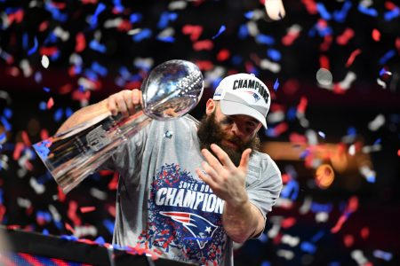 Julian Edelman To Be Honored At Halftime During This Sunday's Patriots Game
