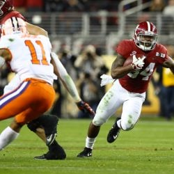 Patriots Add RB with Alabama's Harris in Round 3
