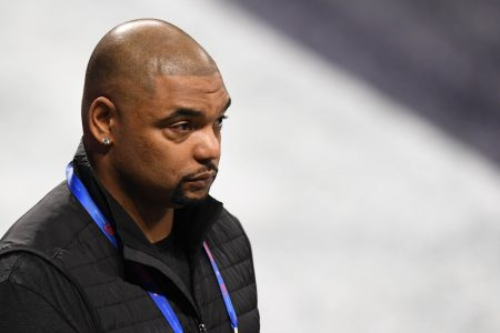 FIRST LOOK: Richard Seymour Fitted For Patriots Hall of Fame Red Jacket