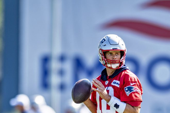 Tom Brady Extension Done, Although Still Year to Year