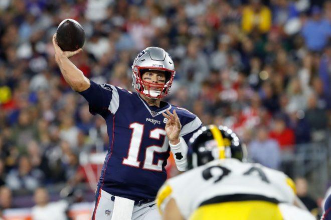 Patriots Drop Banner #6, Throttle Steelers 33-3, Observations