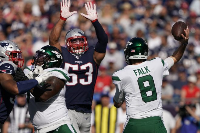 Patriots Week 3 Report Card, 30-14 Win Over the Jets