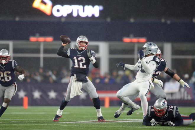PHOTO: Tom Brady Remains Optimistic Following Loss To Texans
