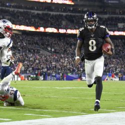 Ravens Run Roughshod 37-20 Over the Patriots