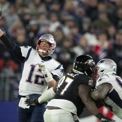 Tom Brady Poses A Challenge To Lamar Jackson During Thursday Night Football