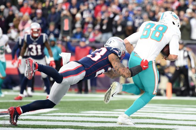 VIDEO: On The Sidelines Of Dolphins vs. Patriots