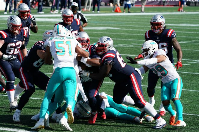 Patriots Ground Game Keys 21-11 Win Over Miami
