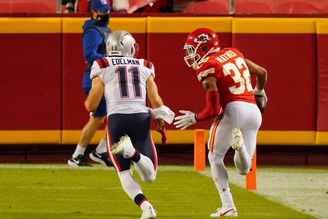 Rough Night For Undermanned Patriots In Kansas City
