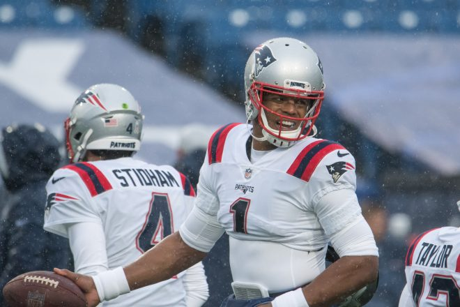New England Patriots News 06-06, Newton Hurts His Throwing Hand