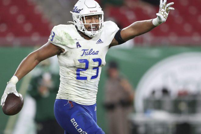 Patriots 2021 Draft Profile, LB Zaven Collins, Tulsa