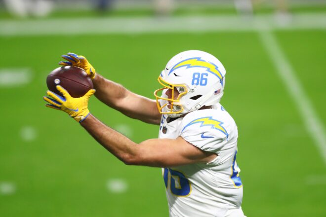 Newly Signed TE Hunter Henry Caps Off Incredible Start to Patriots Offseason