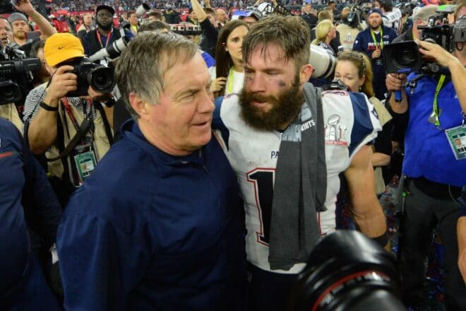 New England Patriots News 04-18, Edelman, Belichick Mutual Admiration