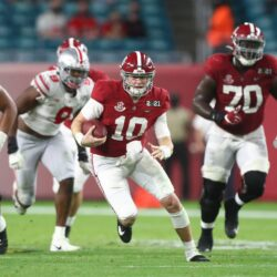 VIDEO: Mac Jones College Highlights At Alabama