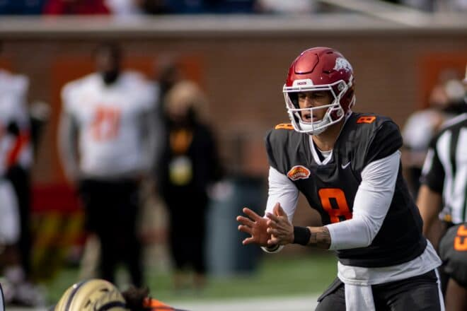 Should the Patriots Target QB Franks In the Later Rounds?