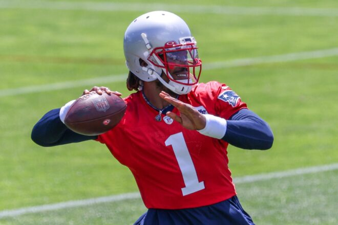 Cam Newton Shares Workout Footage With Patriots Teammates