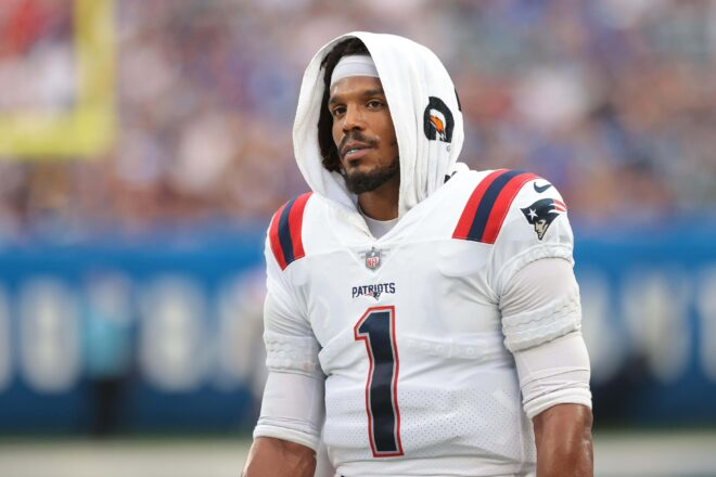 Cam Newton Reacts To Surprise Release From Patriots