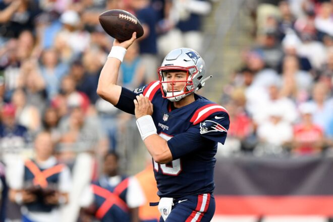 Quick Release: Patriots Mac Jones in Solid Company After Rookie Start