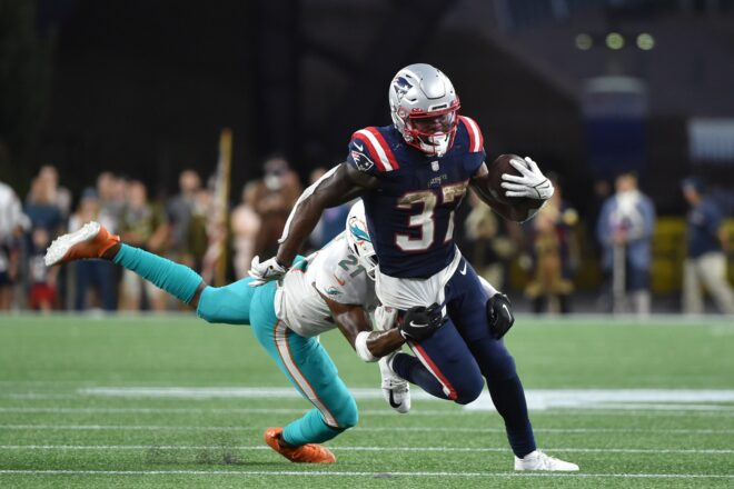 Patriots Fumbled Away Jones Debut in Loss to Dolphins