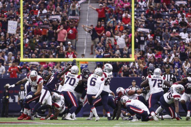 Patriots Week 5 Report Card In Last-Minute Win Over Houston